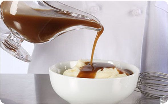 Beef Gravy in a Snap ~ Discover the secret ingredient in our flavorful beef gravy.   BetterThanBouillon.com