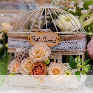 Hochzeitsdeko selber machen;