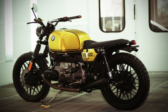 foto show hb custom bmw r 80 7 umbau zum scrambler. Black Bedroom Furniture Sets. Home Design Ideas