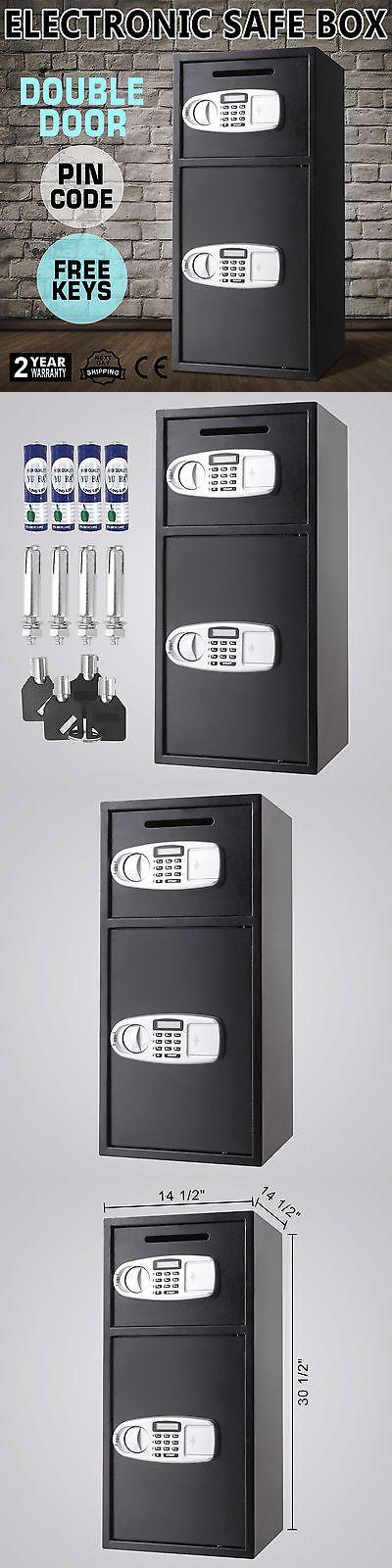 Safes 121836: Black Large 33 Digital Electronic Safe Box Keypad Lock Security Home Office -> BUY IT NOW ONLY: $109 on eBay!