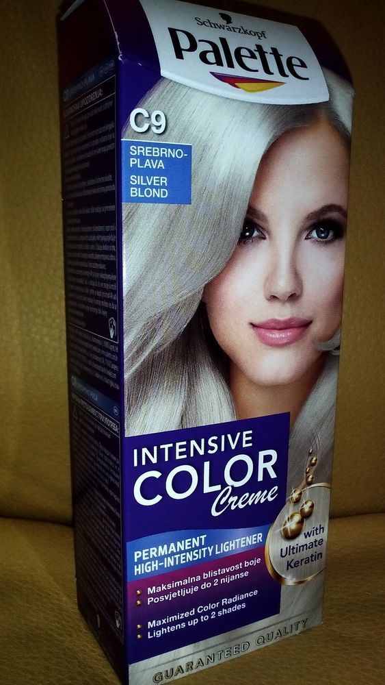 Schwarzkopf Palette Intensive Color Creme Permanent Hair Dye Colour 30 different #Schwarzkopf