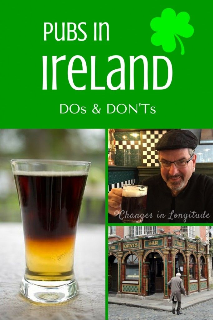 It's just as important to know what NOT to do while visiting a Pub in Ireland!|Ireland travel|Irish pubs| what to order in an Irish pub|drinks to order at an Irish pub|Irish pub tours Ireland
