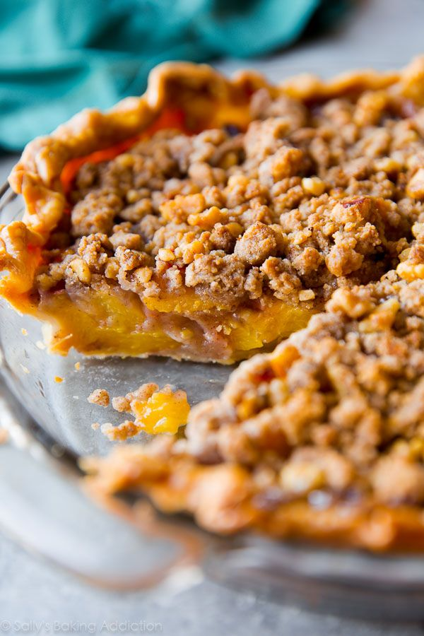 25+ best ideas about Peach crumble pie on Pinterest ...