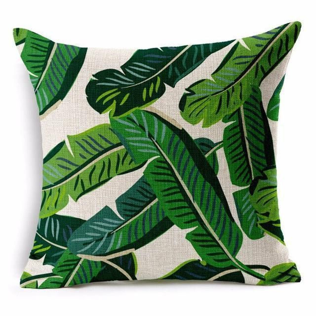 Jungle Bungalow Style Throw Pillows Throw Pillow Styling Green