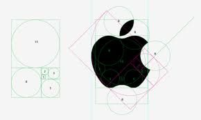 apple logo - geometry