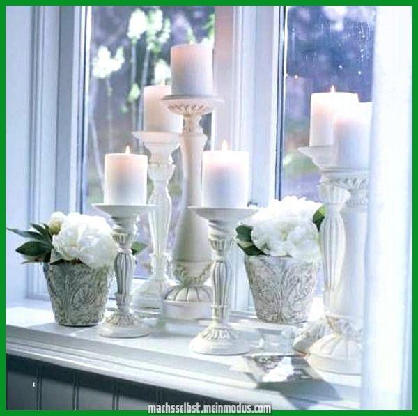 Deko Ideen Für Wohnzimmer Fensterbank