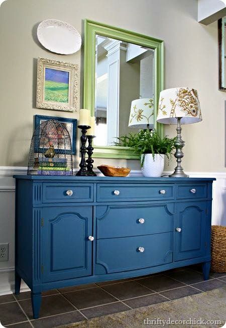pin by general finishes on blue turquoise paint furniture chalk paint dresser chalk paint. Black Bedroom Furniture Sets. Home Design Ideas
