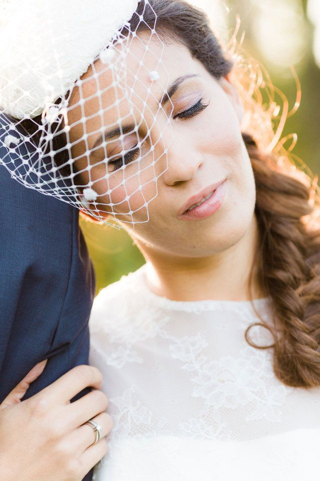 #inspiratie #sluier #birdcage #bruidskapsel #haar #bruid #kapsel #bruiloft #trouwdag #huwelijk #wedding #hairstyle #hair #hairdo #veil #hairstyles #inspiration #ideas | Photography: Anouschka Rokebrand | Hair: The Beautiful Bride Company | ThePerfectWedding.nl