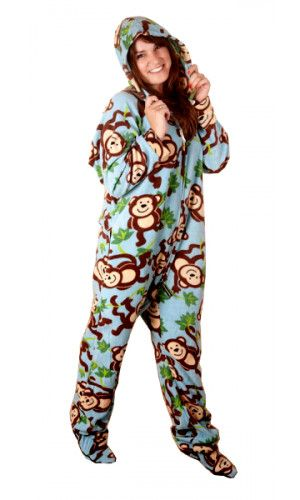 Forever Lazy offers the highest quality adult onesies, footed pajamas, footie pjs, pajamas without feet and one piece sleepwear for men and women.