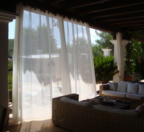 Onita Moulik I outdoor curtains I C&C Milano Vela outdoor fabric