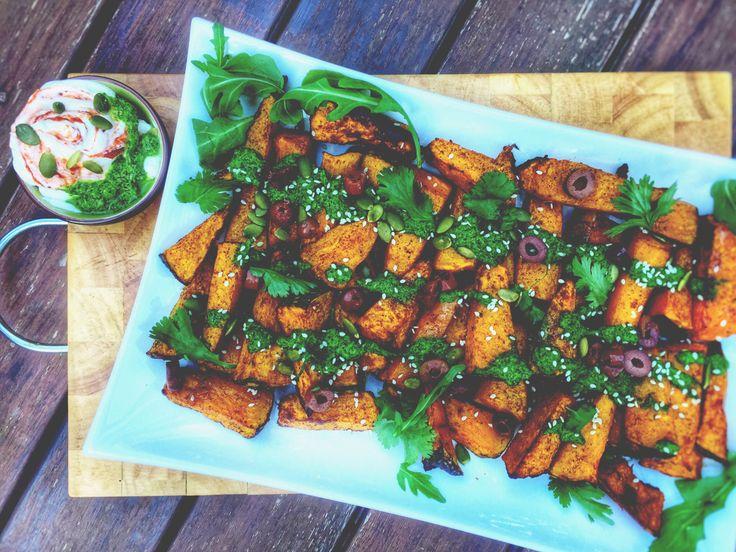 Sumac & Orange Spiced Pumpkin Wedges • So Matcha To Love