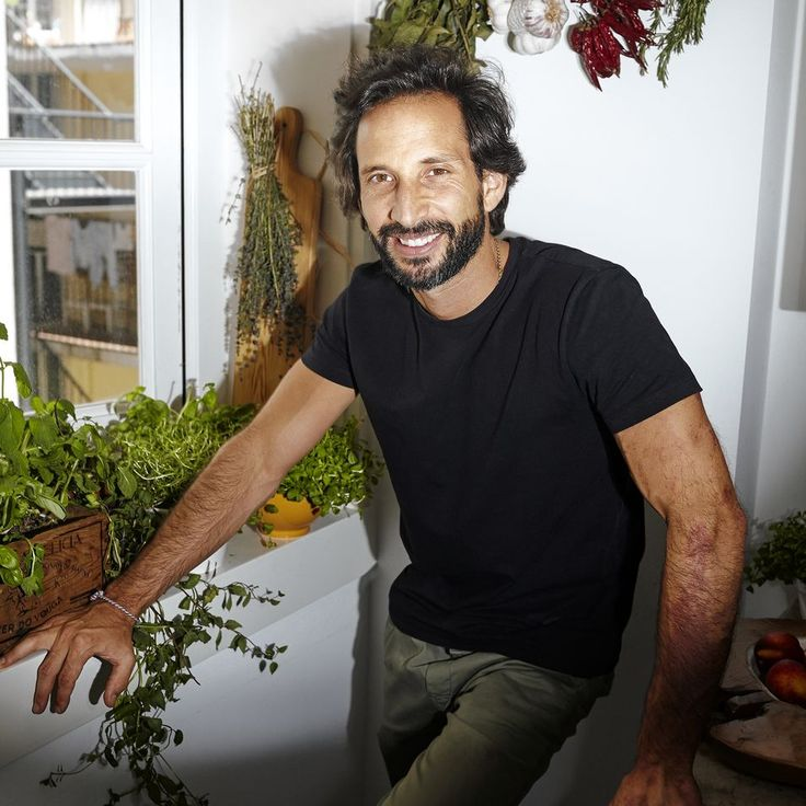 Chef José Avillez in his own home kitchen.   Wall Street Journal June 2015