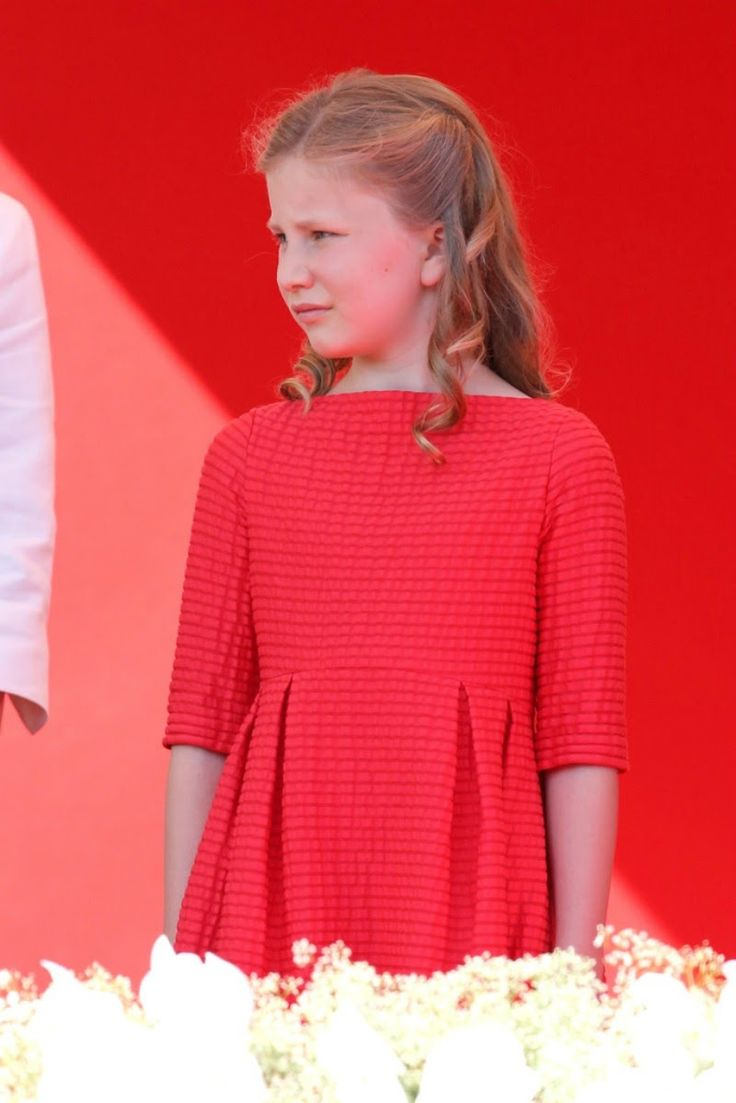 Abdication Of King Albert II & Inauguration Of King Philippe - Civil and Military Parade ~ the new Crown Princess Elisabeth of Belgium