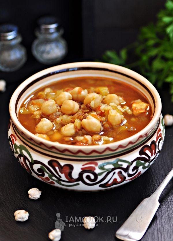 Фото марокканского супа Харира