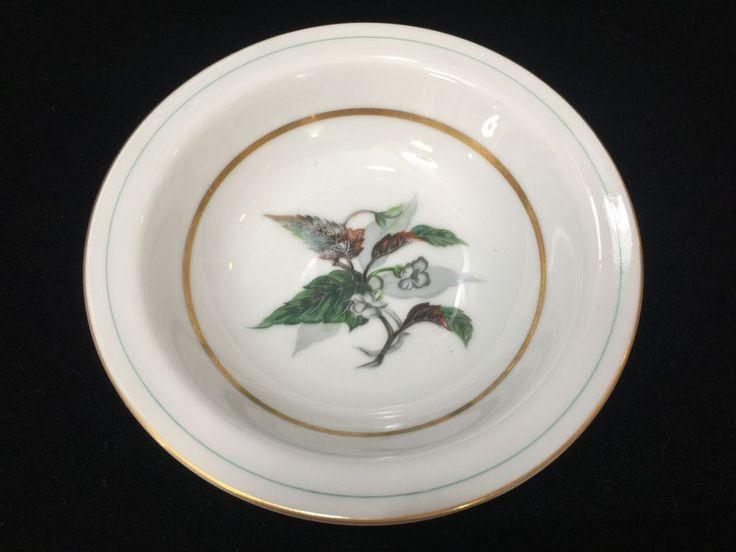 "Vintage Imperial Craftsman Japan Porcelain China Begonia Small Bowl, 5 1/2"" Dia #ImperialCraftsman"