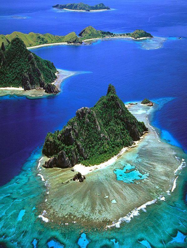 Most Beautiful Place for Tourists, Mamanuca Islands - Fiji