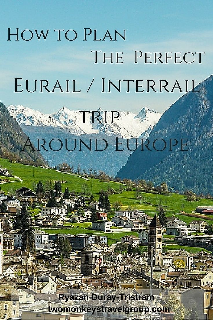 How to Plan the Perfect Eurail or Interrail Trip Around Europe. I will discuss in this article on how we planned our Eurail / Interrail adventure. So let's start on choosing the right ticket that will fit your travel needs and budget.