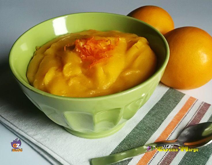 Crema all'arancia, ottima da mangiare come un dessert o per farcire le torte, biscotti....Crema all'arancia è una crema pasticcera con una sola ....