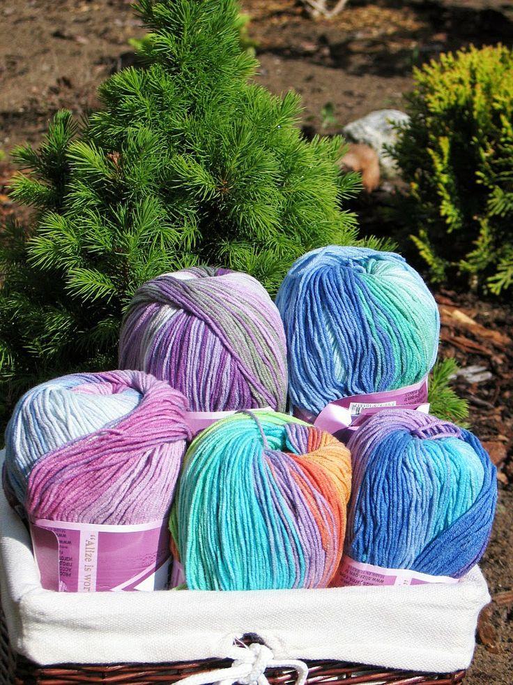 www.sklep-zeberka.pl  5 kolorów włóczki Alize Cotton Gold BD w Sklepie Zeberka:  nr 3686, 4530, 4532, 4149, 4531