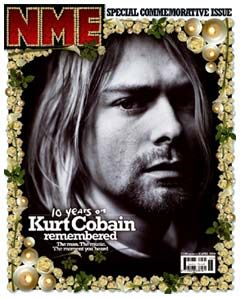 The first NME cover where I thought - fuck, that's really a thing isn't it? Rob Biddulph was the Art Director.