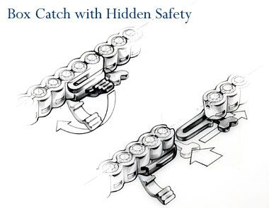 Box catch with hidden safetyFree Diy Jewelry Projects   Learn how to make jewelry - beads.us