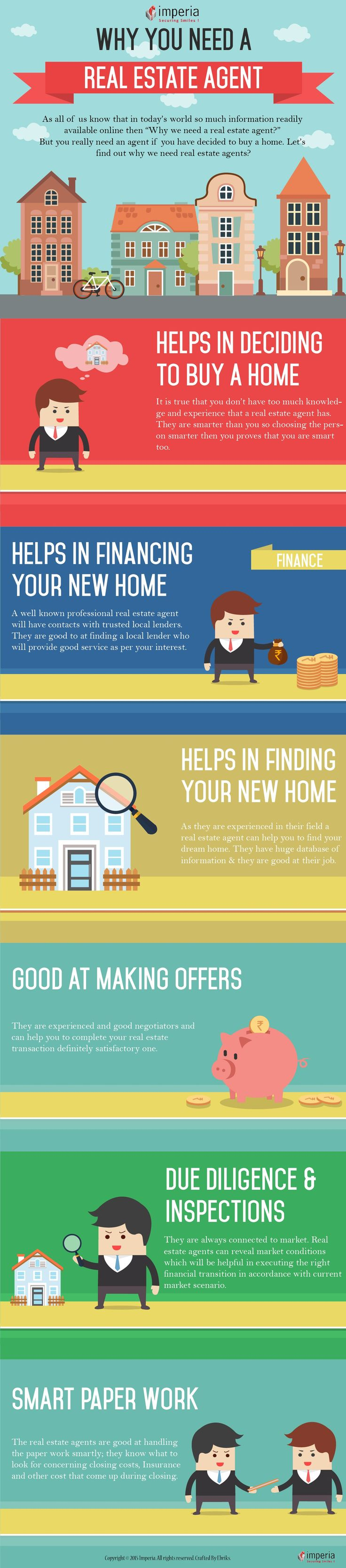 #Home buyers don't really aware of what real estate #agent brings to the table that they can't do for themselves. Here is the reason why we need #realestate agent?