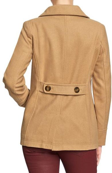 beige pea coat | Coats Short coats Old Navy Coats