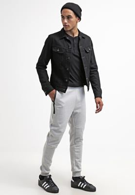 Only & Sons ONSSPOT - Pantalón de deporte - light grey melange - Zalando.es