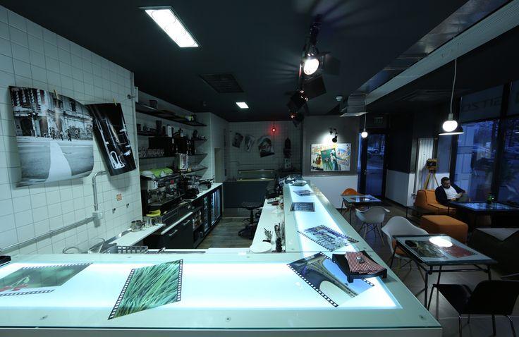 F64 coffe shop interior design concept.