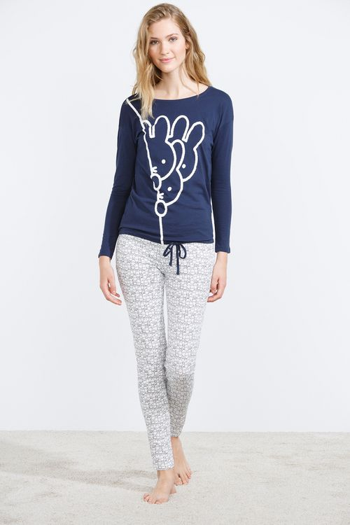 women'secret | Productos | Pijama largo de Miffy en algodón 29,99 €