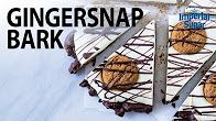 Gingersnap Bark - Learn how to make this delicious homemade candy in our step-by-step how-to video. A twist on the traditional chocolate bark: spicy gingersnaps and brown sugar-toasted rice crisp cereal make this sweet treat an extra special treat for the holidays. Great for a gift or to have at a party.