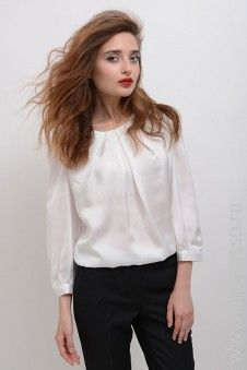 #blouse #winter #autumn #LinoRusso #РусскийЛен #silk #lace