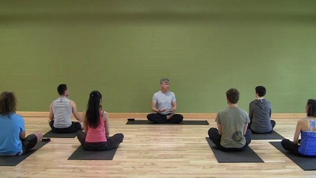 Moderate Kripalu Yoga Class with Devarshi Steven Hartman by Kripalu Center. Join Kripalu Yoga teacher Devarshi Steven Hartman as he leads you through an hour-long moderate/vigorous class.