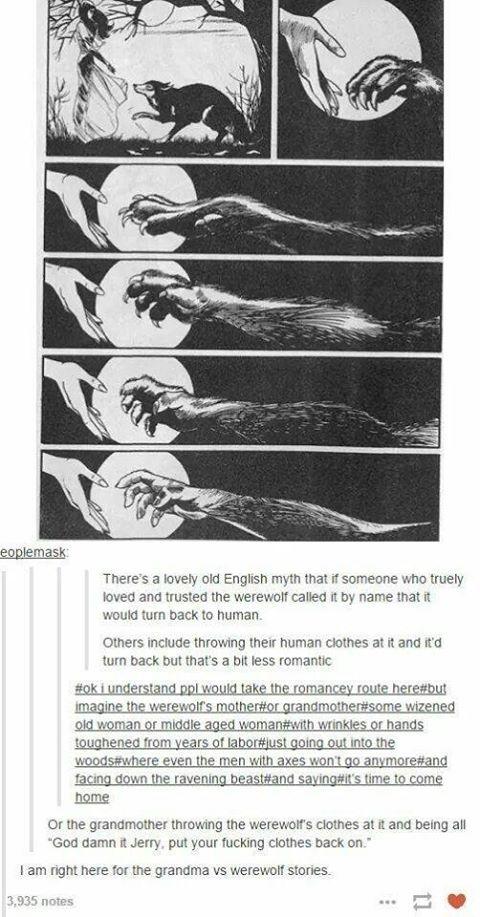 Werewolf legend #werewolf #legend