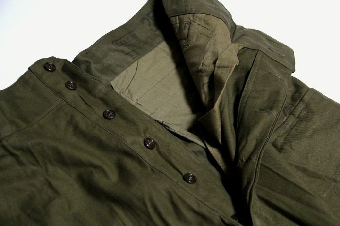 メンズBIGサイズ フランス軍 希少 1950年代 M47 ヴィンテージ カーゴ パンツ オリーブカーキ 。フランス軍 希少 1950年代 M47 ヴィンテージ カーゴ パンツ オリーブカーキ / 新品 軍 ミリタリー デッドストック