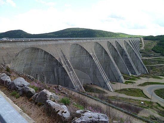 Manic 5 dam in Northern Quebec