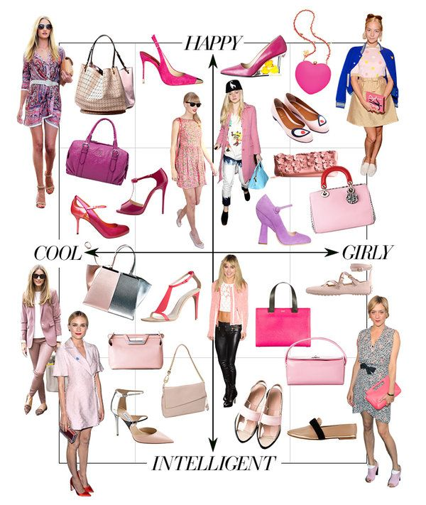 how to wearing pink
