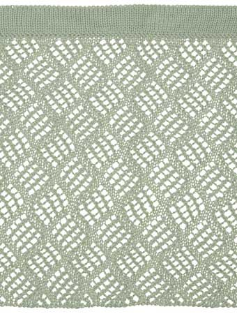 Dappled Lace Café Curtain Pattern - Knitting Patterns and Crochet Patterns from KnitPicks.com
