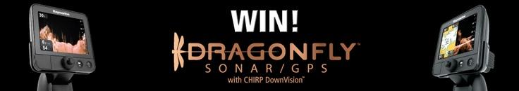 Win a Raymarine Dragonfly Sonar GPS