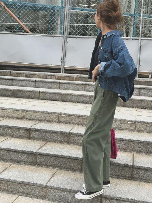 ANTREのデニムジャケットを使ったmaiのコーディネートです。WEARはモデル・俳優・ショップスタッフなどの着こなしをチェックできるファッションコーディネートサイトです。