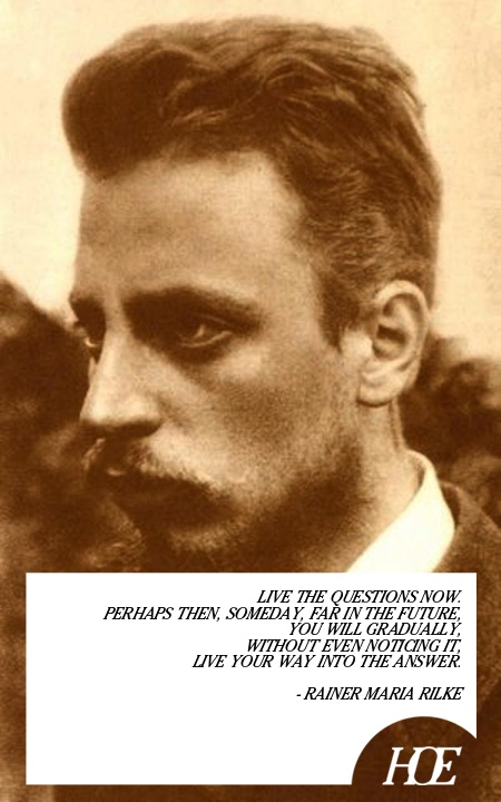 Quote of the Day: Rainer Maria Rilke