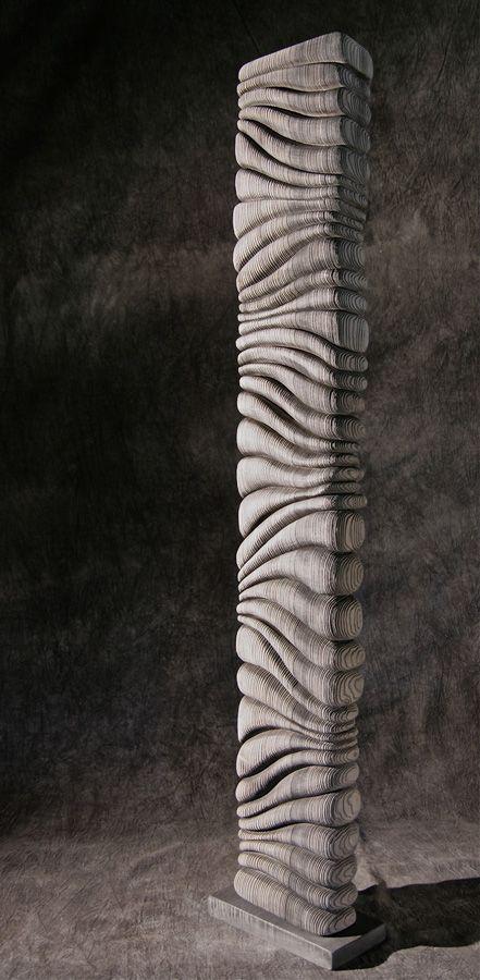 Thierry Martenon ~ Wood Sculpture 2011 (Frêne, Ash Wood)                                                                                                                                                                                 More