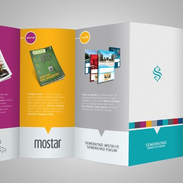 Beautiful Deca Fold Brochure design 2 20+ Simple Yet Beautiful Brochure Design Inspiration & Templates