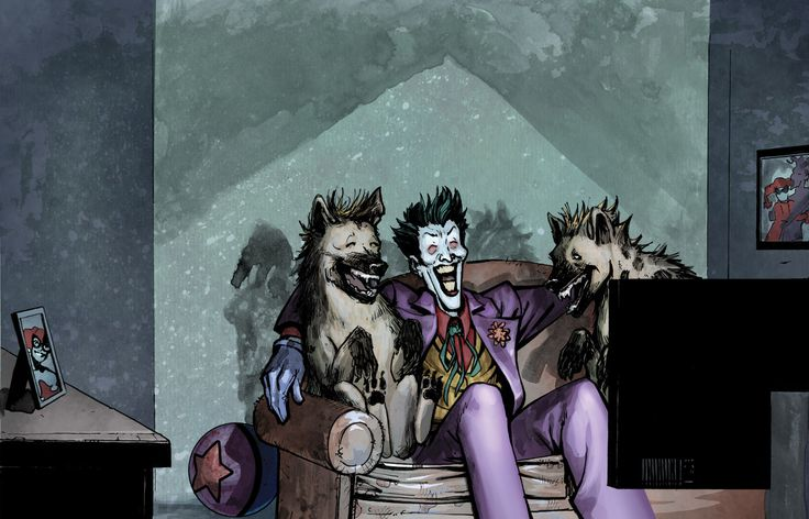Mr. J & The Boys. Art for The World According to The Joker from Insight Editions/ DC Entertainment. Pencils & Inks by me Colors by the Amazing Beth Sotelo. #DCEntertainment #dccomics #Joker #jokergang #arkahamasylum #batman #illustration #sketchamadoodle #joelgomez #bethsotelo