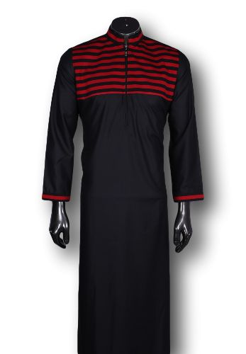 Kufnees Design 4081 Colour Black With Red