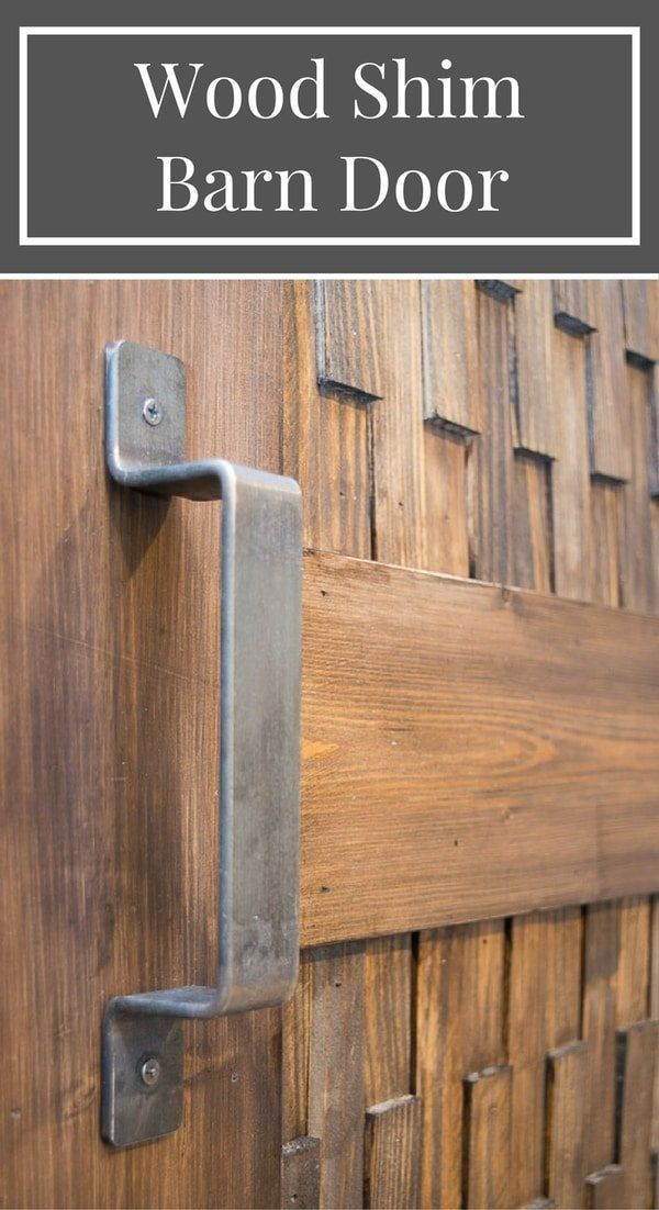 Easy Diy Barn Door With Optional Textured Panels Barn