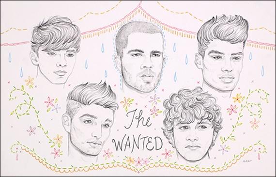 The Wanted, ilustrados por Jenny Hart: Music Awards, Videos Music