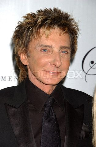 Barry Manilow in Palm Springs | barry manilow photos 2009 | Redaktionel foto af 'Barry Manilow ...