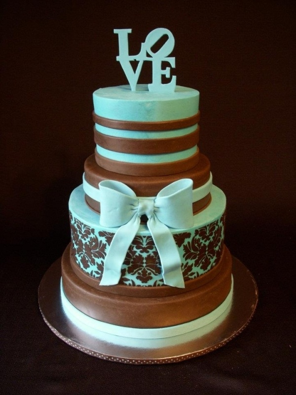 Beautiful Black And White Wedding Cake Pictures