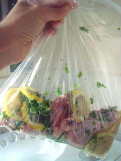 Arabafelice in cucina!: Pollo marinato al limone, il più facile del mondo!..Umm get Osmara to translate